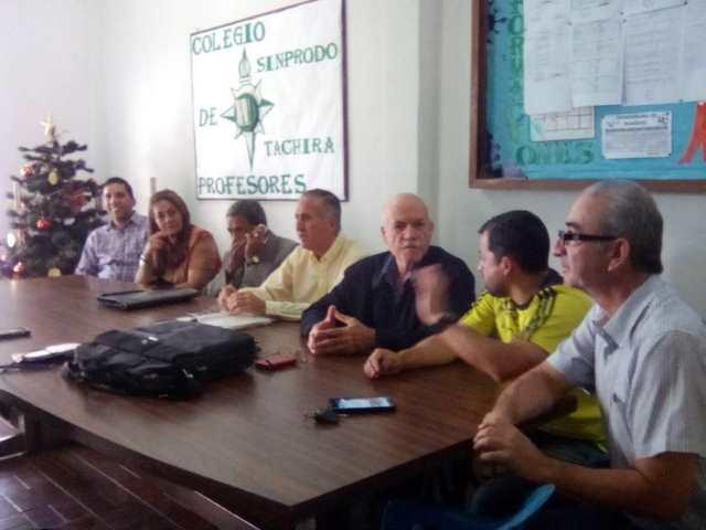 Más de 40 mil docentes protestaran por 48 horas en el Táchira