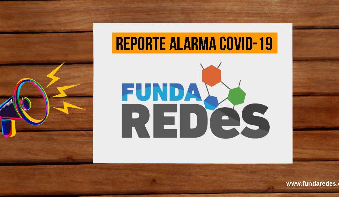 REPORTE ALARMA COVID-19 | Martes 21 de abril del 2020