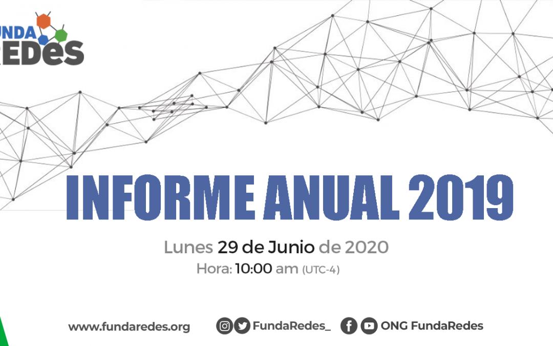 Informe Anual FundaRede 2019