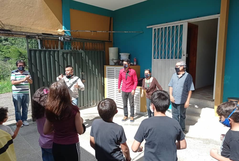 FundaRedes llevó programa Actívate a comunidad de La Romera