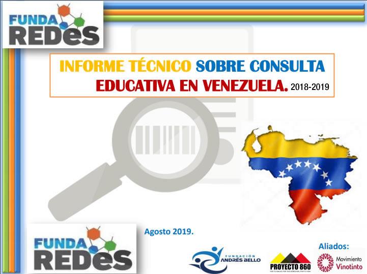 Consulta Nacional Educativa 2018-2019