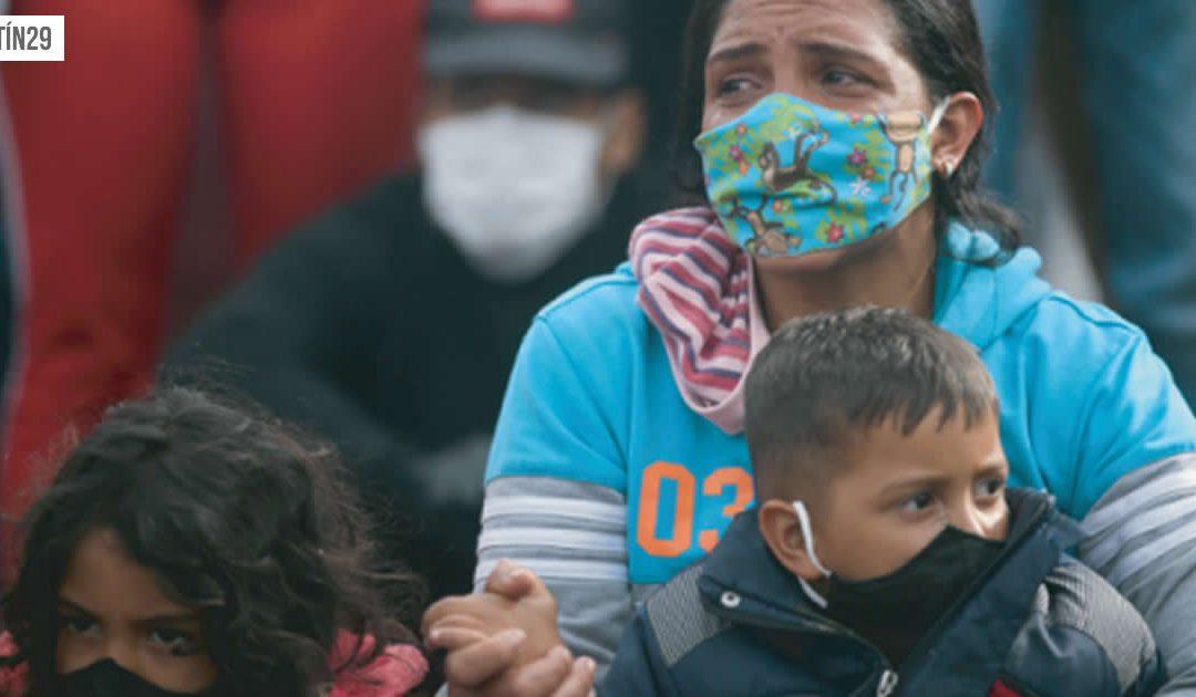 #Boletín29   CONDICIONES CADA VEZ MÁS PRECARIAS PONEN EN RIESGO LA VIDA DE LOS MIGRANTES VENEZOLANOS
