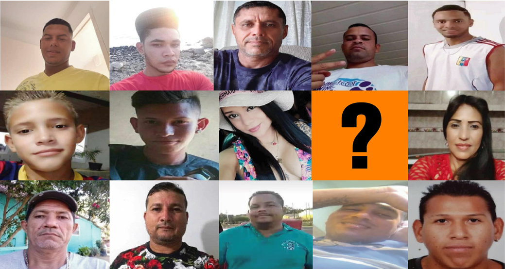 El Estado Venezolano aplica exterminio con el silencio  ante desaparición de migrantes en el mar