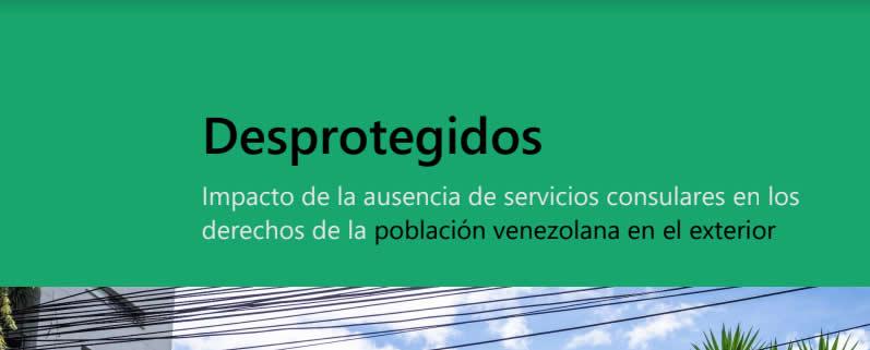 Nuevo estudio del CDH UCAB registra el impacto de la ausencia de servicios consulares en los derechos de la población venezolana en el exterior
